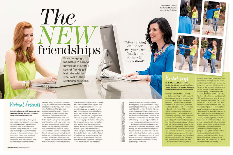 Woman & Home | The New Friendships | June 2014