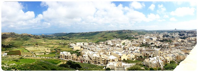 gozo views from cittadella