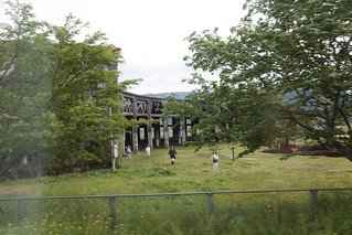 豊後森の機関庫