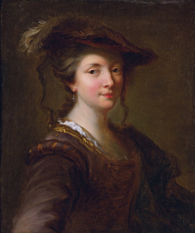 Alexis Grimou - Portrait of a Lady, said to be Louise Julie de Nesle, Comtesse de Mailly (c.1730)
