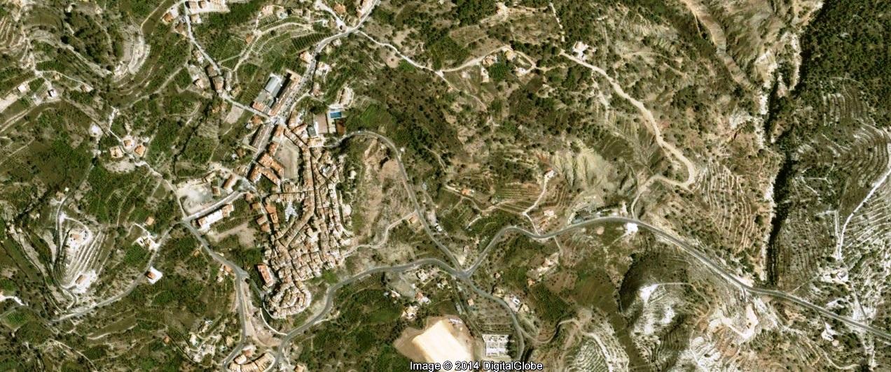 antes, urbanismo, foto aérea, desastre, urbanístico, planeamiento, urbano, construcción,Finestrat, Alicante