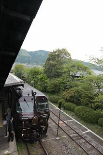 由布院駅 機関車