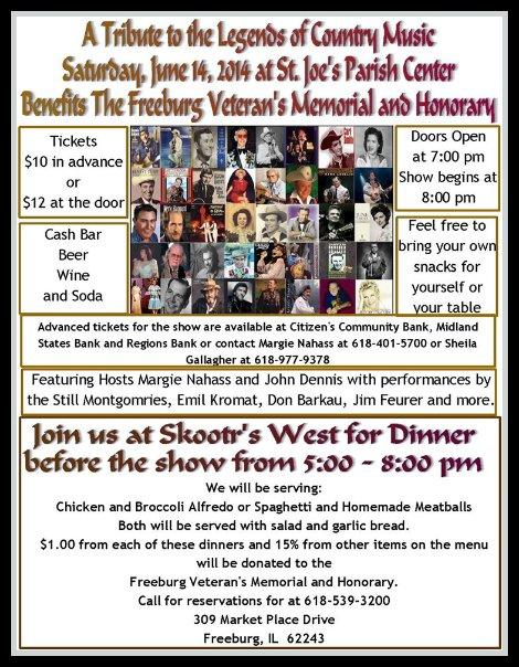 Freeburg Veterans Memorial 6-14-14