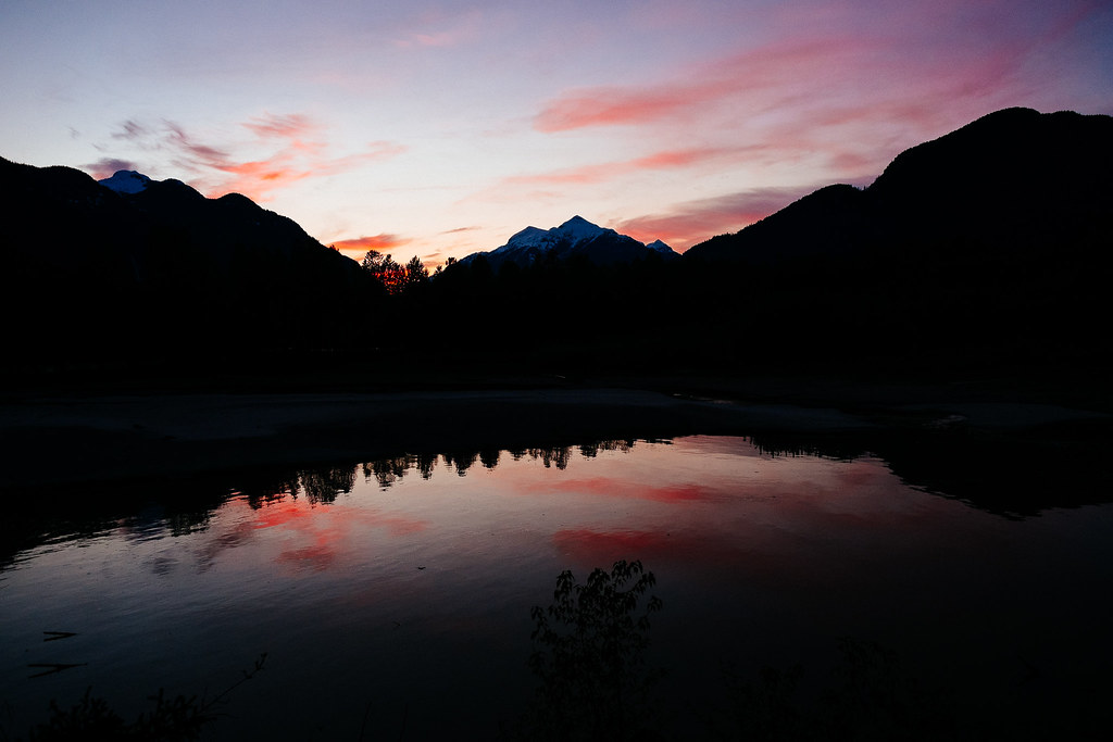 Squamish River Valley Sunset
