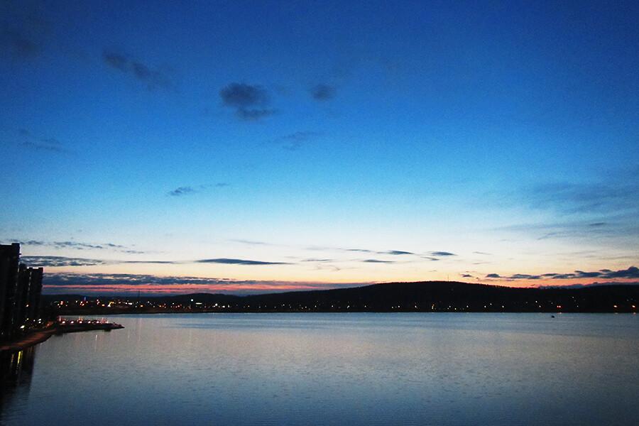 jyväsjärvi yöllä