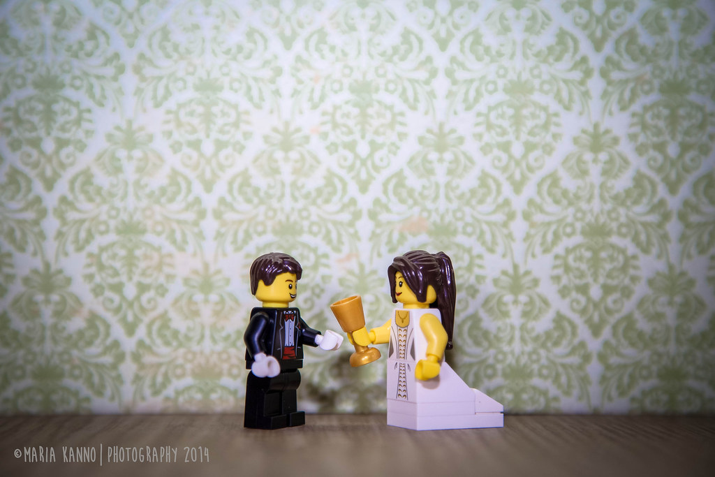 Lego Wedding Reception