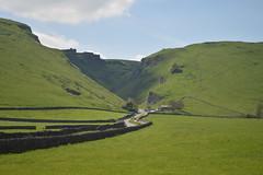 Winnats Pass from the Village