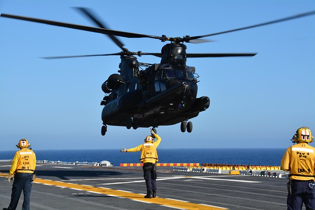USS Peleliu Conducts Deck Landing Qualifications