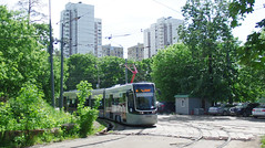 Moscow tram Pesa Fokstrot 3502