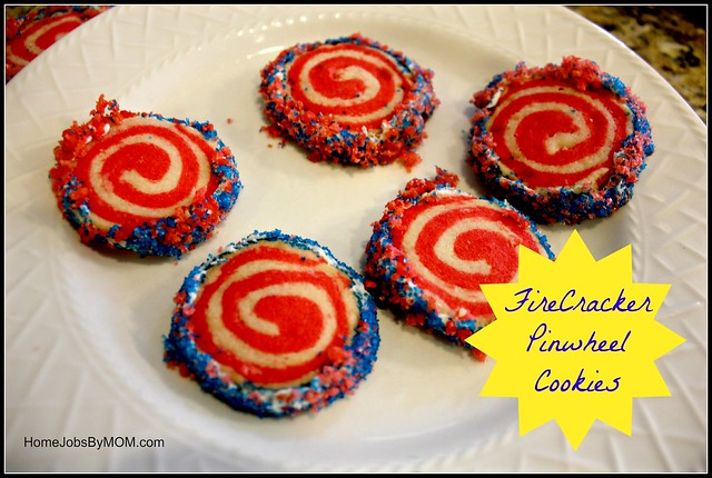 Firecracker Pinwheel Cookies Recipe