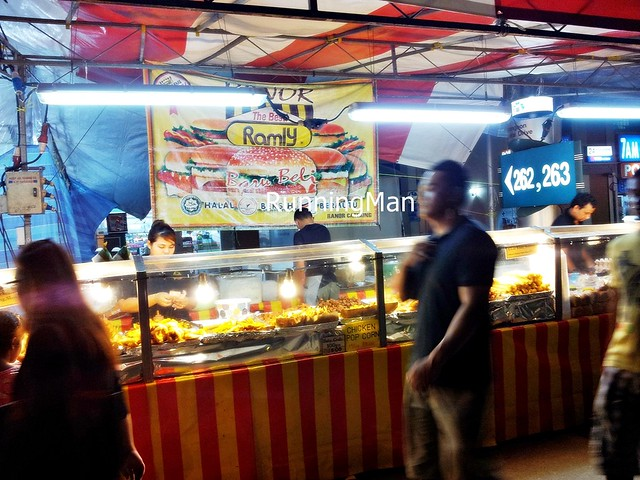 Pasar Malam Night Market 09 - Ramly Burger Stall