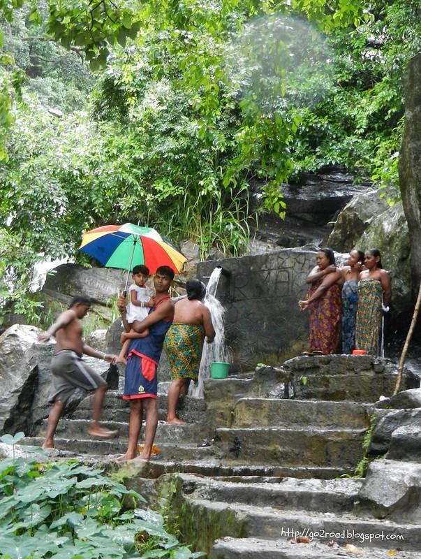 Водопад Равана возле Эллы