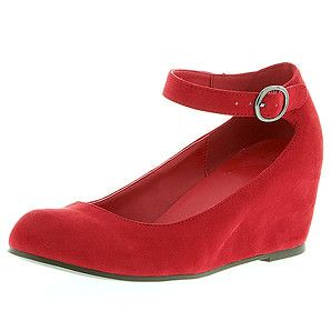 Target red shoes