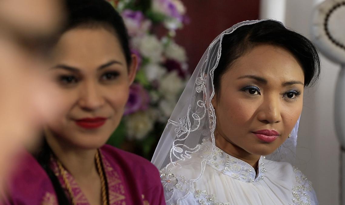 Zawati (Nadia Aqilah) sabotaj Indah supaya dia dapat berkahwin dengan Shaiful