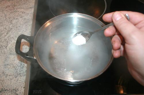 49 - Wasser salzen / Salz water