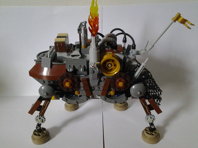 Motorized Steampunk Walker