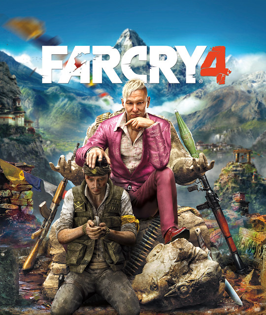Far Cry 4 for PS4, PS3