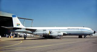 SAAF B707-328C 1417 AF617