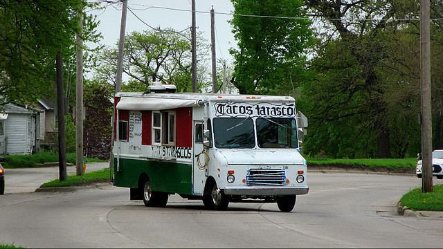 They See Me Rollin'...... Tacos Tarascos in Des Moines, Iowa