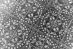 art, symmetry, line, monochrome photography, drawing, circle, monochrome, wallpaper, black-and-white, flooring,