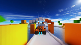 Jet Car Stunts on PS4, PS3, and PS Vita