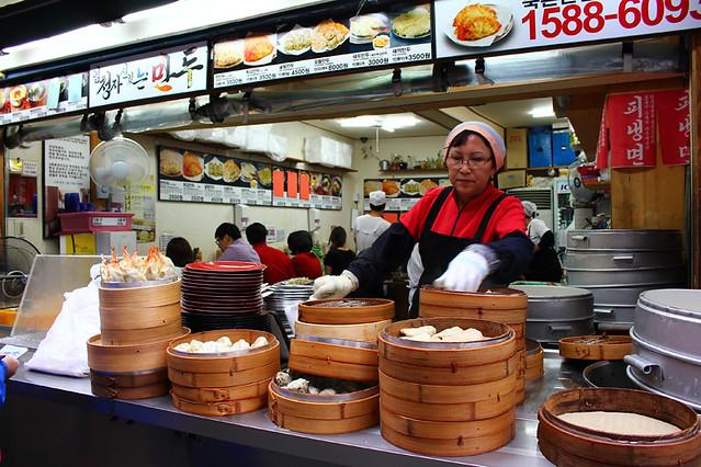 A dumpling shop - Seoul