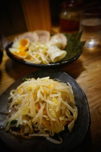 Tsukemen Yasubee: Veggies and Extras