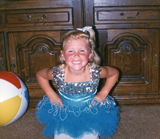 Brittny Flint-4 yrs old & home from 1st dance recital