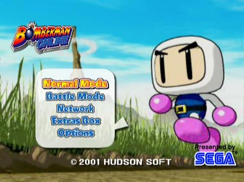 Bomberman Online - title