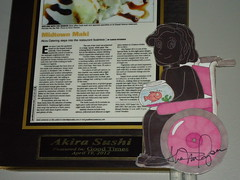 Melody has Sushi (Submitted by McMo) by melodyaroundtheworld