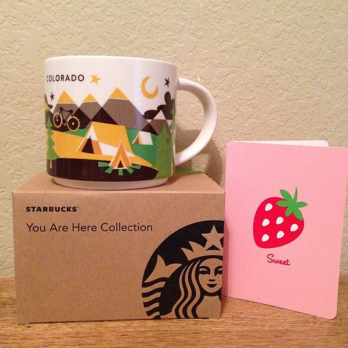 147:365 @sew_joyful Thank you so much!! I love the CO mug! #starbucks #youarehere