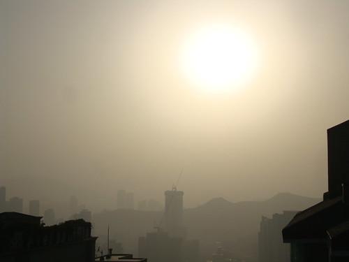 Yellow Dust in Busan