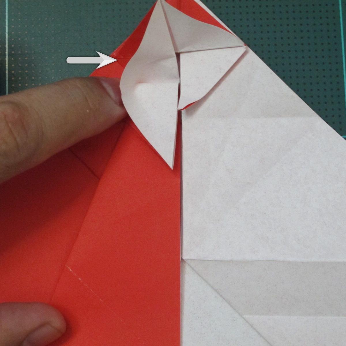 การพับกระดาษเป็นรูปสัตว์ประหลาดก็อตซิล่า (Origami Gozzila) 022