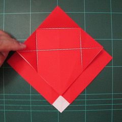 การพับกระดาษเป็นรูปสัตว์ประหลาดก็อตซิล่า (Origami Gozzila) 008