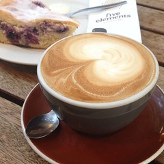 Flat White @ Cafe Melba