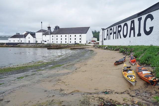 Laphroaig Distillery, Islay, Scotland