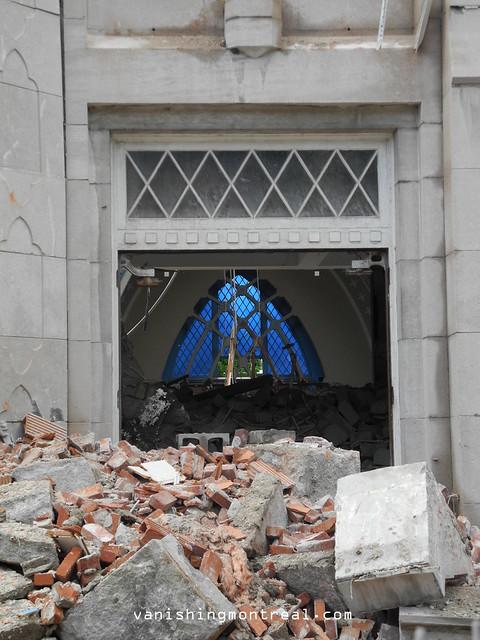 Eglise Notre-Dame-de-la-Paix demolition 6/06/14 08