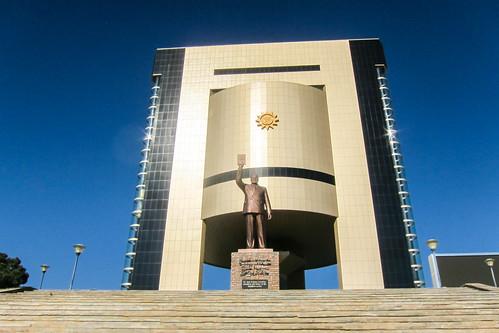 Sam Nujoma in Windhoek