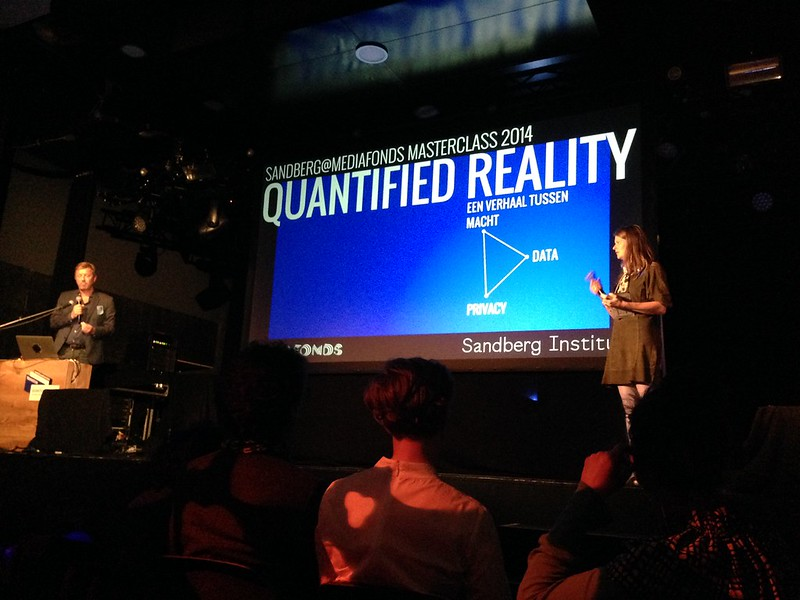 Presentations of this years Sandberg@Mediafonds #quantifiedreality @tolhuistuin
