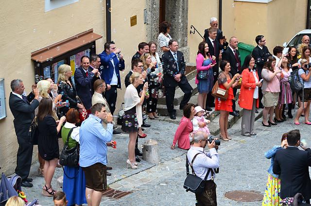 Wedding, Augustiner Bräu, Salzburg, Austria