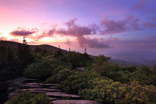 sunrise northcarolina blueridgeparkway grandfathermountain brp roughridge northcarolinamountains canon1635f28 durinsday canon6d