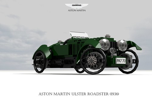 Aston Martin Ulster Roadster (1936)