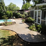 Exposed Aggregate Pool Deck Extension In Davis