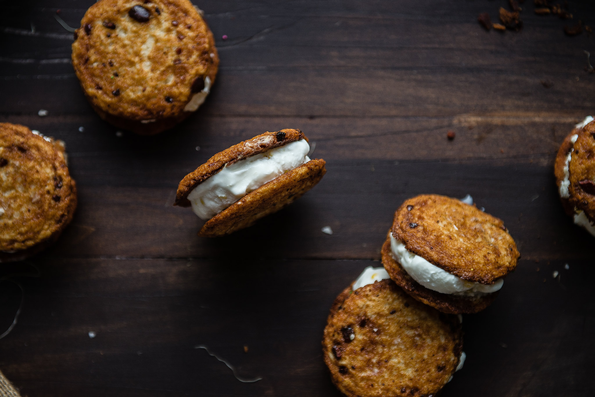 Bacon & Sweet Corn Ice Cream Sandwiches | my name is yeh x TRB!
