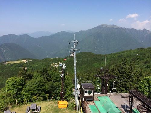 japan roadtrip mount shikoku chairlift ehime ishizuchi