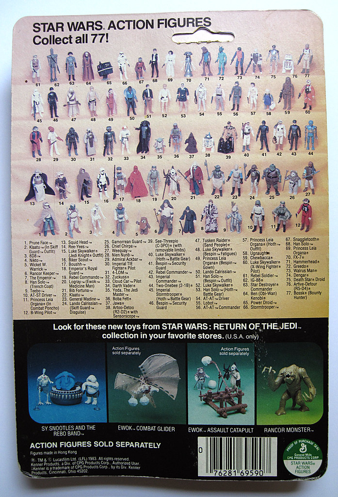 FS - Palitoy 12 back Die Cast card backs - loose figures & Polish Bootleg Silver Stormtrooper 14402975490_9dec98d586_b