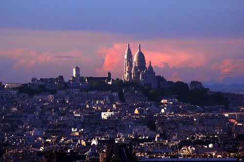 Montmartre Sunset - Paris, France