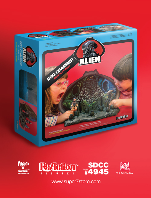 ReAction Figures Alien Egg Chamber Playset