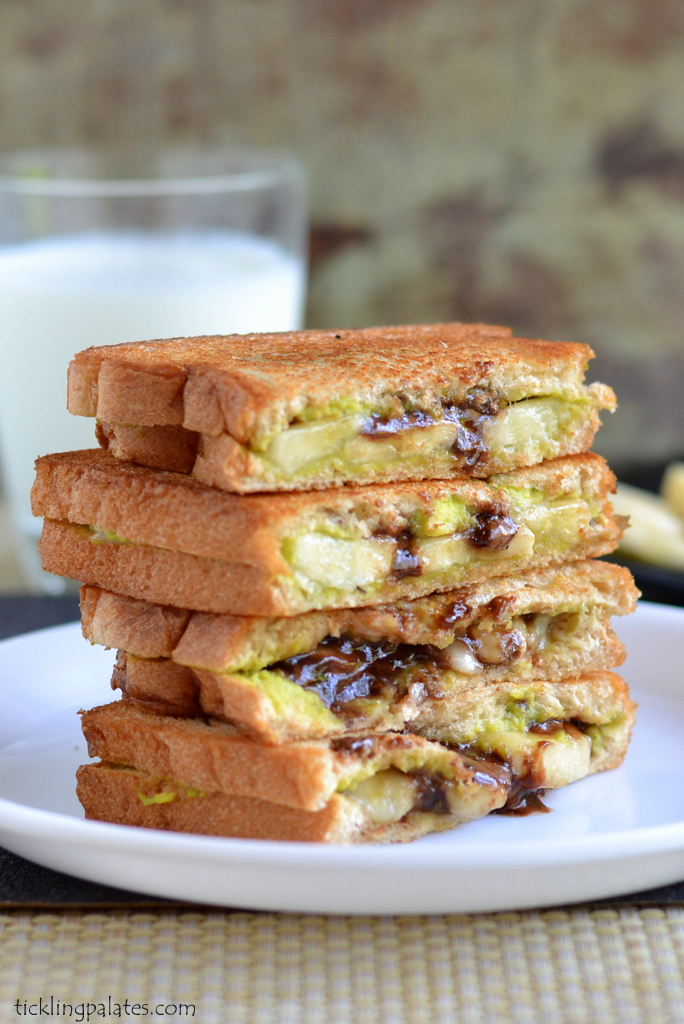 Avocado Butter Chocolate Sandwich