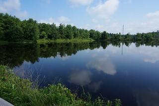 lake in the Poconos